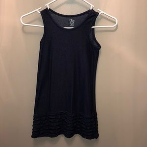 "NWOT stretchy ""denim"" dress"